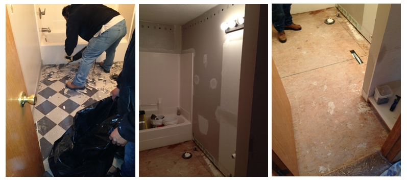 Bathrom Remodel Project - Before