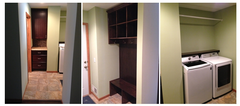 Mudroom Project - After