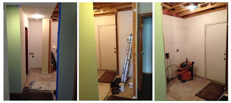 Mudroom Project - Before